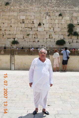 Gurudev Siyag Israel Visit 01