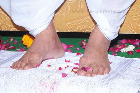 Gurudev Siyag's Lotus Feet Image 02
