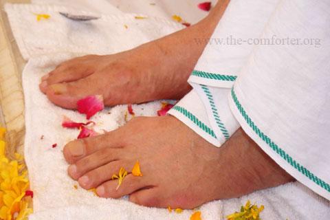Gurudev Siyag's Lotus Feet Image 03