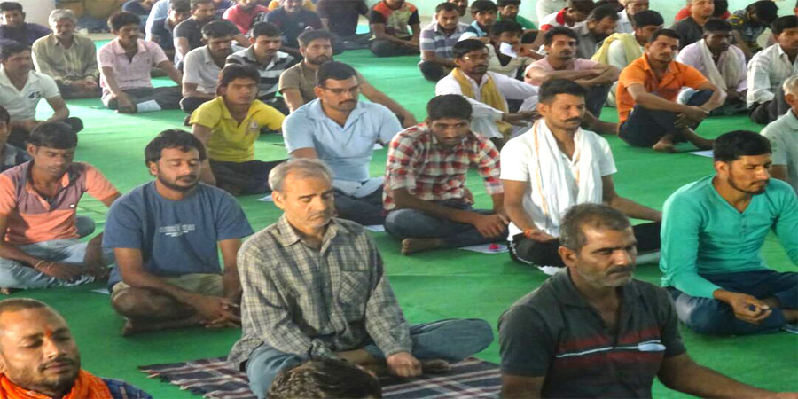 Meditation session organized for Bikaner Jail in April'2017