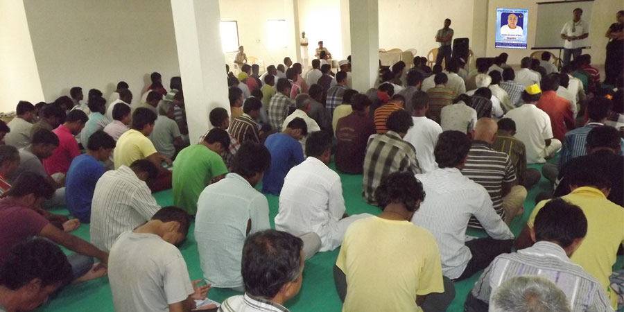Meditation session organized for Lajpore Central Jail, Surat, Gujarat in Aug'2013
