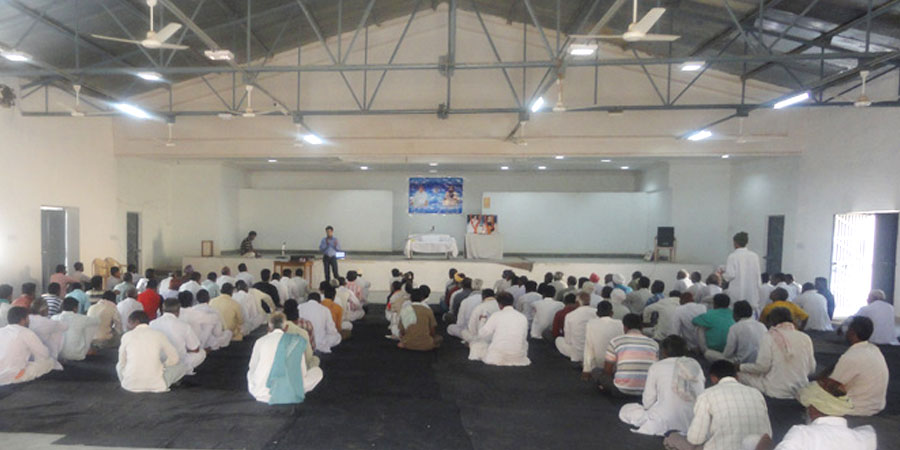 Meditation session organized for Bikaner Jail in November'2010