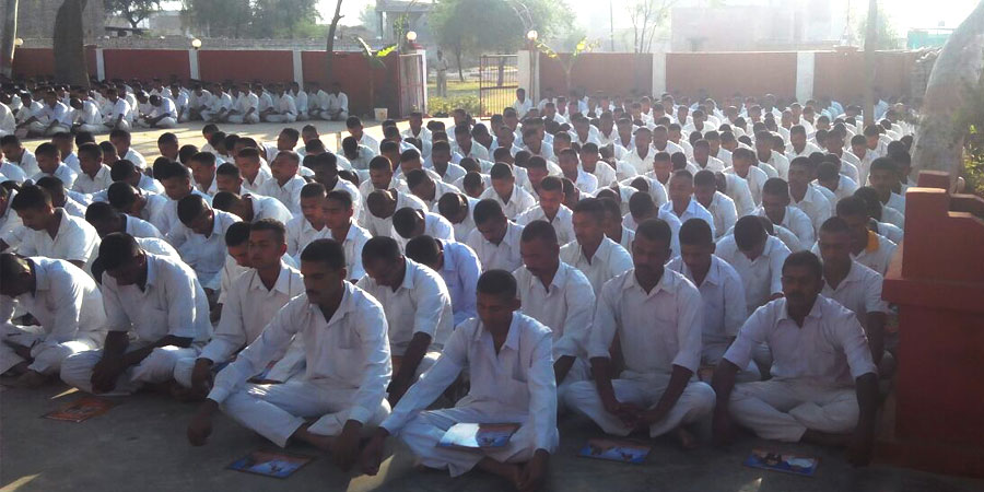 मई .2016 को C.R.P.F सूरतगढ़, गंगानगर के लिए सिद्धयोग ध्यान शिविर का आयोजन