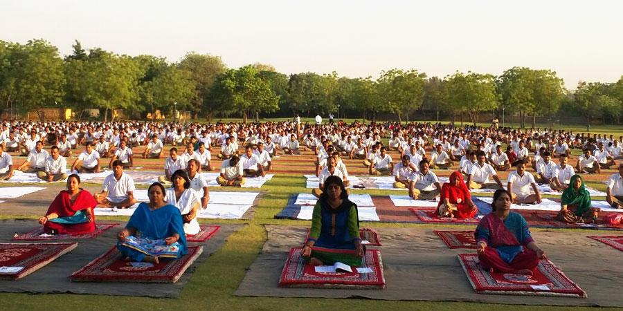 B.S.F जोधपुर के लिए सिद्धयोग ध्यान शिविर का आयोजन
