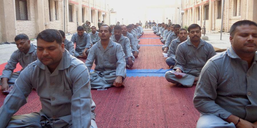 मिलिट्री हॉस्पिटल, जोधपुर के लिए जनवरी'2016 में सिद्धयोग ध्यान शिविर का आयोजन किया गया।