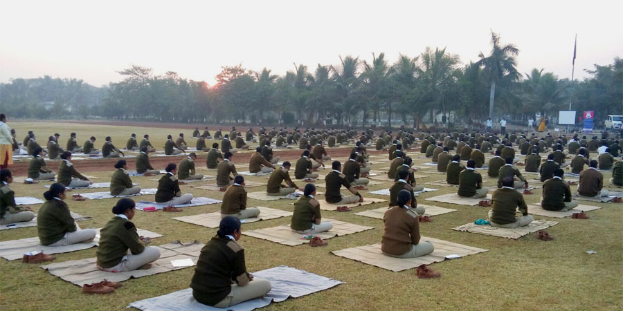 Meditation session organized for Police Line Surat, Gujarat in January' 2016