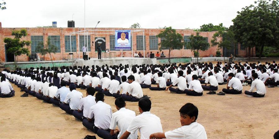 केन्द्रीय विद्यालय सीमा बाल (बीएसएफ), जोधपुर में सिद्धयोग ध्यान शिविर का आयोजन