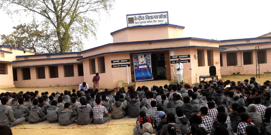 AVSK Activities organized in Kendriya Vidyalaya Khariar, Naupada, Odisha on Feb'2016