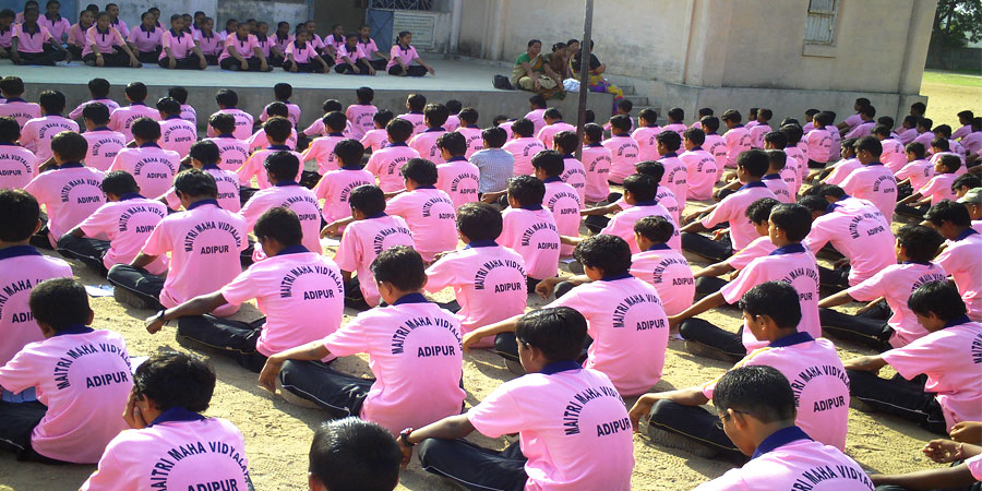 AVSK Activities organized in Maitri Maha Vidhyalaya, Adipur Kutch, Gujarat in Sep'2014